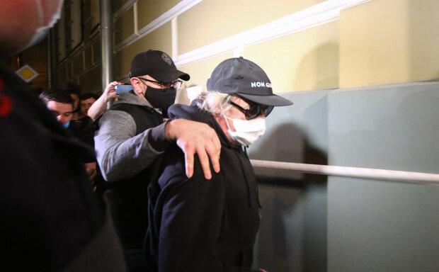 """Михаил Ефремов в суде, фото АГН """"Москва"""""""