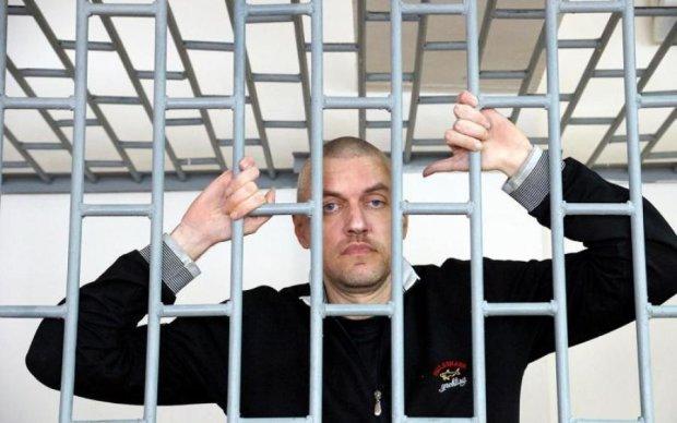 Клых находится в критическом состоянии после российской психбольницы