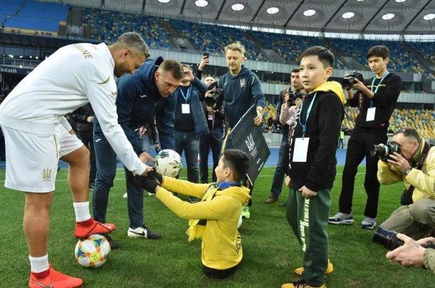 Зінченко здійснив мрію особливої дитини: інвалідність - не перешкода
