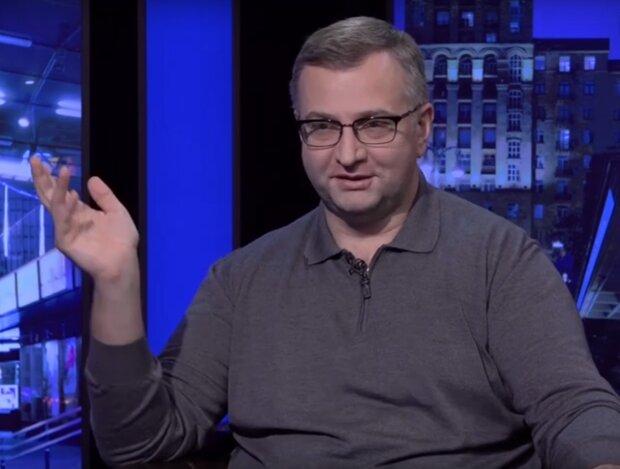 экономист Юрий Атаманюк в эфире Politeka Online, скриншот с видео
