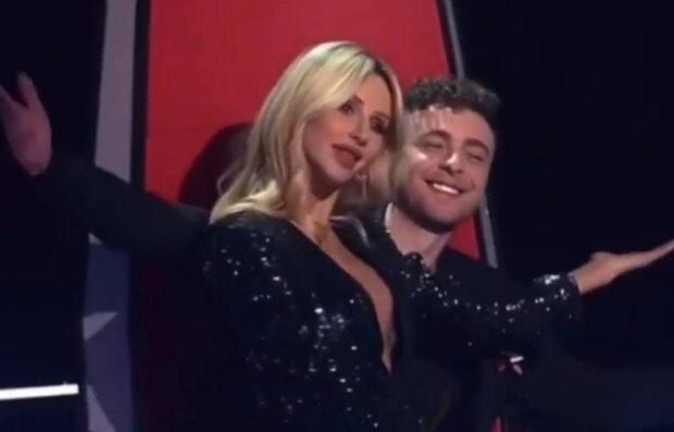 Світлана Лобода та Єгор Крід / скріншот з відео
