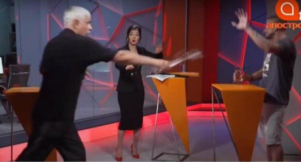 Корчинський і Пилипенко, скріншот з відео