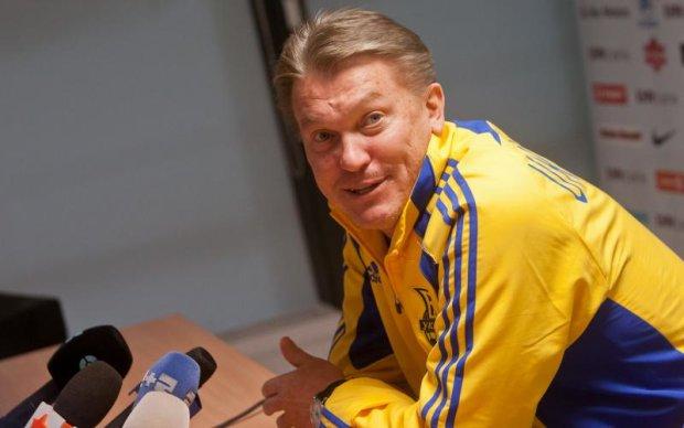 Агент: Блохін завершив кар'єру тренера