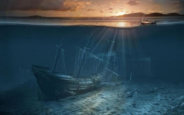 Біля берегів Пташиного острова знайшли кладовище кораблів