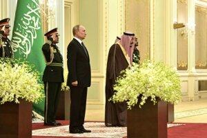 Путін в Саудівській Аравії