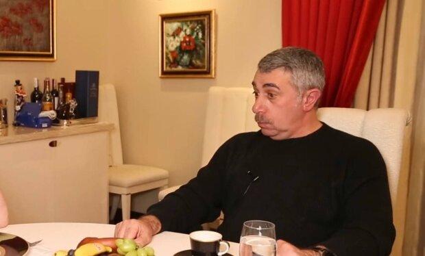 Евгений Комаровский / скриншот из видео