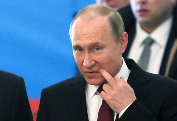 "Путіна та ватажка ""ДНР"" зганьбили у Донецьку"
