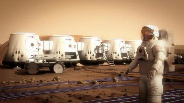 На Марс отправят установку по производству кислорода