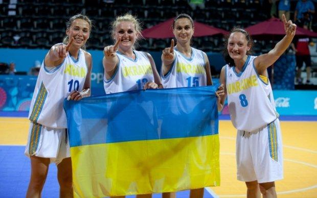 Украинская женская сборная по баскетболу попала в тройку сильнейших в мире