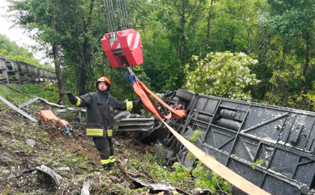 В Италии автобус с российскими туристами рухнул в овраг: жертвами ДТП стали более 30 человек