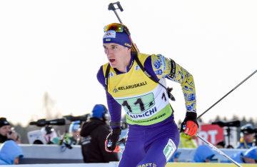 На першій в історії микстовій гонці українські біатлоністи втерли носа росіянам