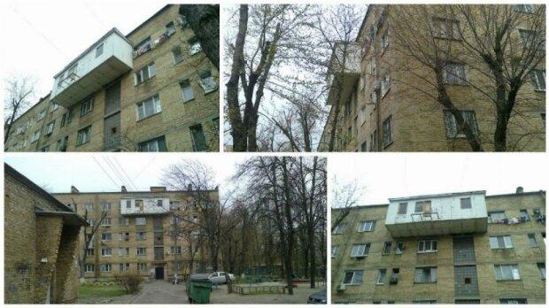 """Балкон больше площади квартиры пристроили себе жители столичной """"хрущевки"""""""
