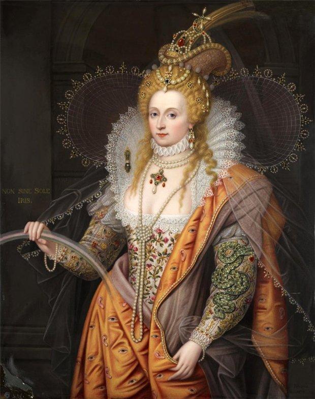 Брови обесцвечены, макияж стерт, волос нет: британцы показали реальное лицо королевы Елизаветы І
