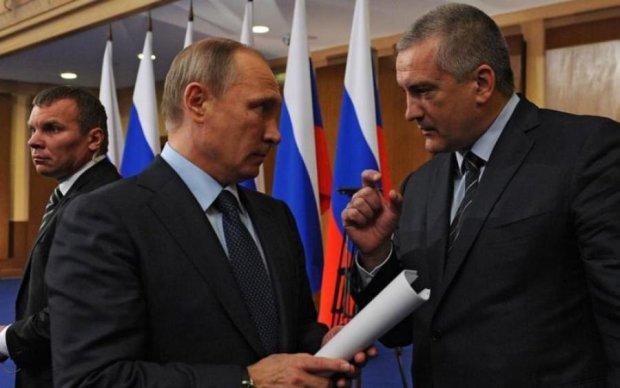 Крымские марионетки взбунтовались против Кремля