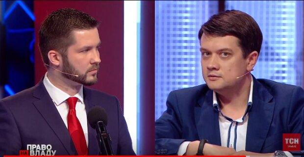 Семен Кабакаєв та Дмитро Разумков