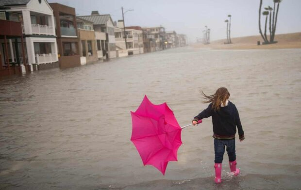 Климатическая катастрофа, фото: АР