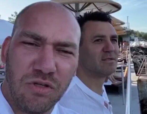 """""""Слуги народу"""" Леонов і Тищенко"""