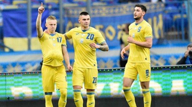 Сборная Украины, фото: Instagram