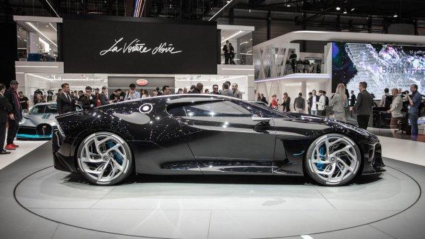 Bugatti выпустила самый дорогой автомобиль в мире в единственном экземпляре: черная молния