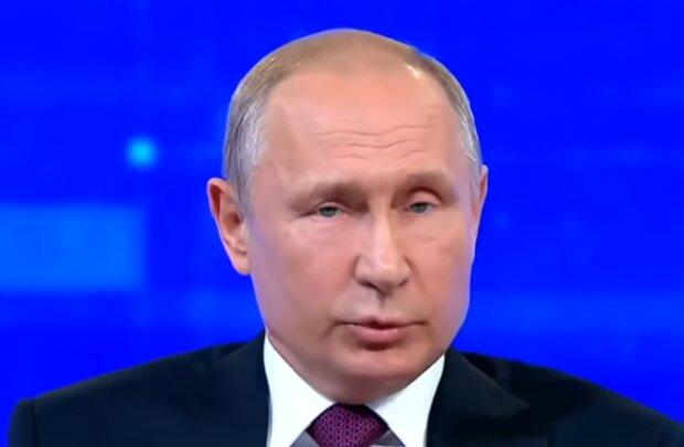 Владимир Путин, кадр из видео