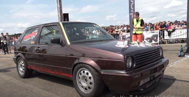 VW Golf Mk2, скріншот відео