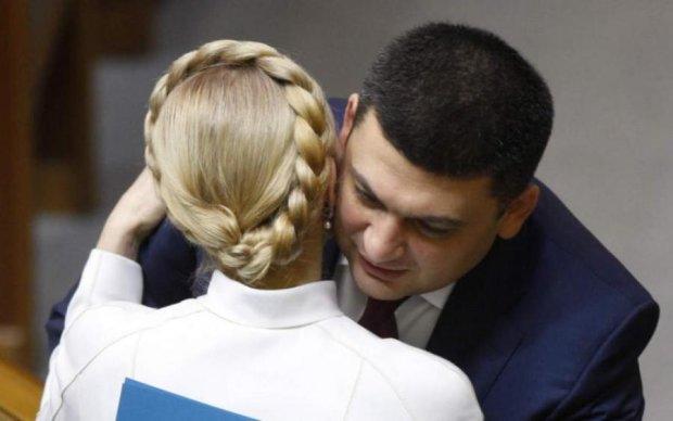 Тимошенко предложила интим в прямом эфире