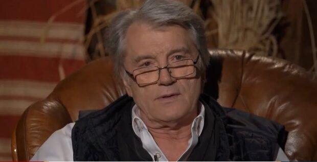 Виктор Ющенко, скриншот из видео