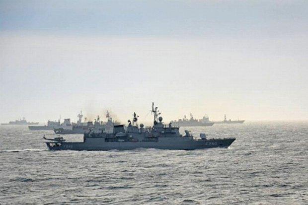 Військово-морські навчання НАТО розпочалися в Чорному морі  (фото)