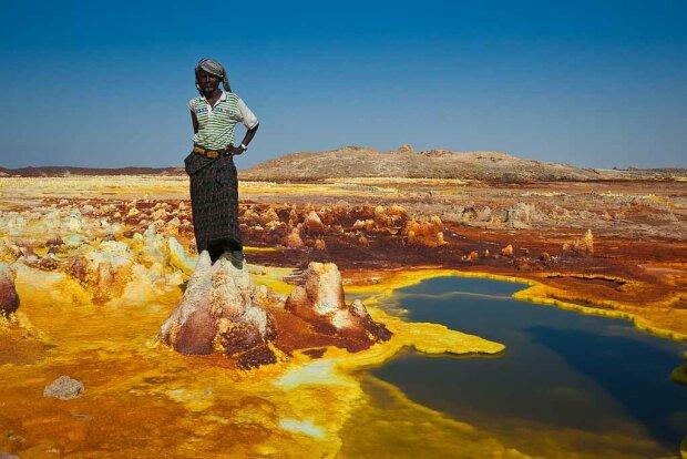 Долина смерті в Ефіопії