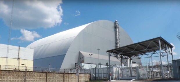 чернобыль саркофаг (скрин видео)