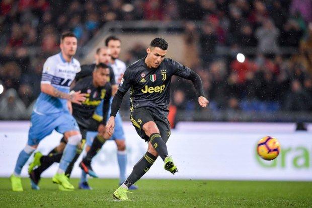 Криштиану Роналду забил решающий гол в матче Ювентус - Лацио