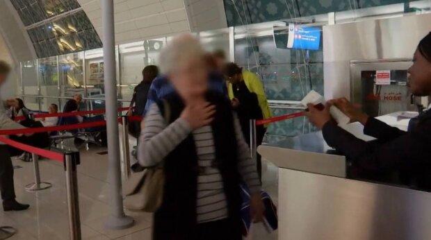 Аэропорт Дубай / скриншот из видео