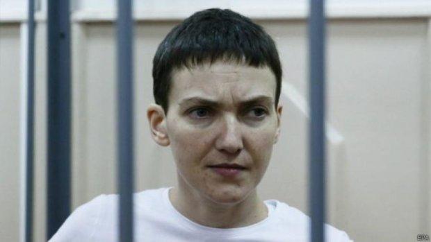 Савченко припинила голодування - кажуть у Росії