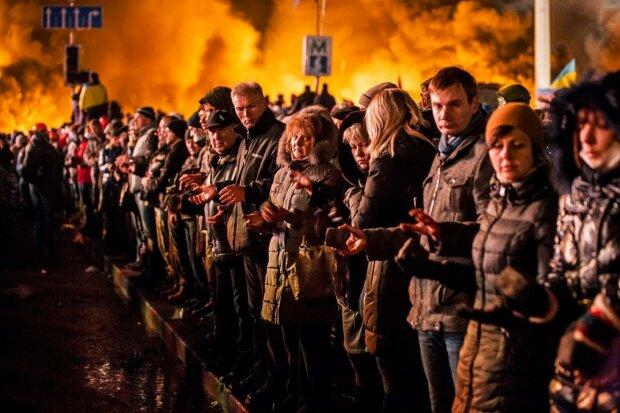 Романенко показал истинное лицо Майдана в годовщину Революции Достоинства