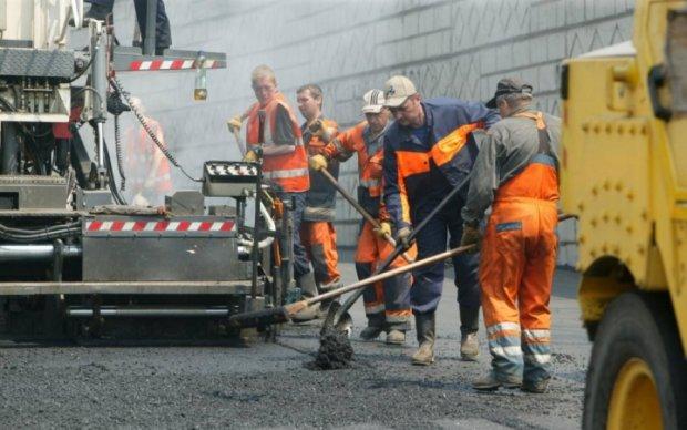В Киеве заработал сайт по ремонту дорог