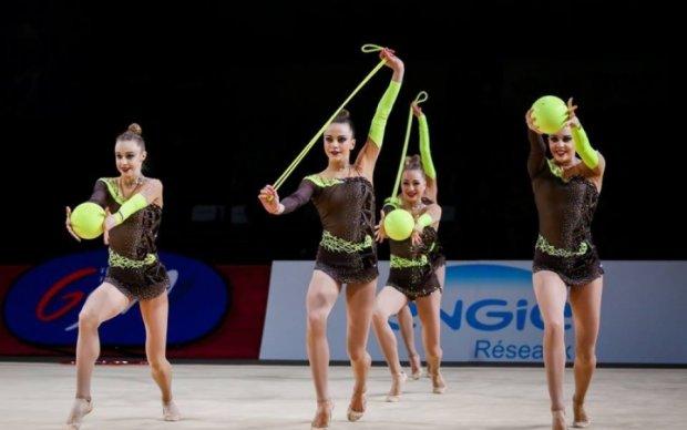 Украинские гимнастки завоевали две медали на этапе Кубка мира
