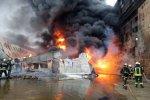У Софии начался страшный пожар: фото из центра Киева