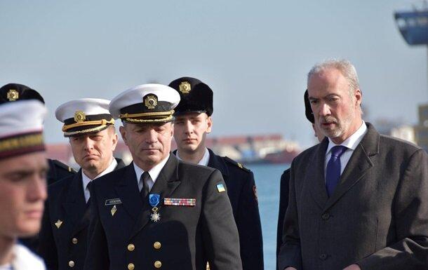 Награждение, ВМС Украины