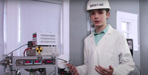 Школьник с ядерным реактором, скриншот