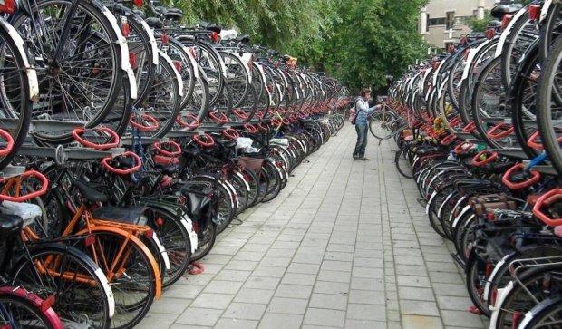 Поки міністр рекламував велодоріжки, у нього вкрали велосипед
