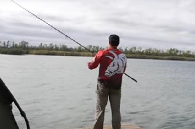 Скрін, відео YouTube рибалка