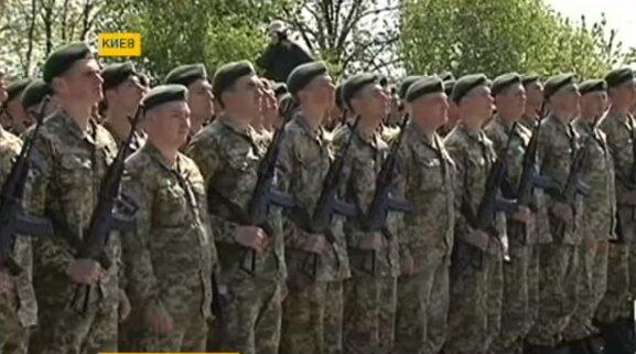 Призывники в Украине, скриншот из видео
