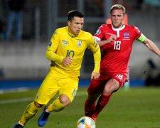 Збірна України вирвала перемогу у Люксембургу 2:1