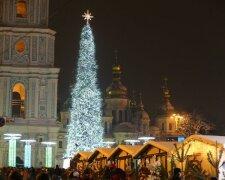 Новорічні свята у Києві, фото: Уніан