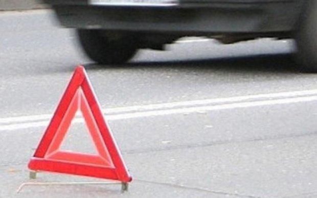 Аварія у Києві паралізувала рух на Борщагівці