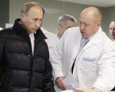 Путин с поваром Пригожиным