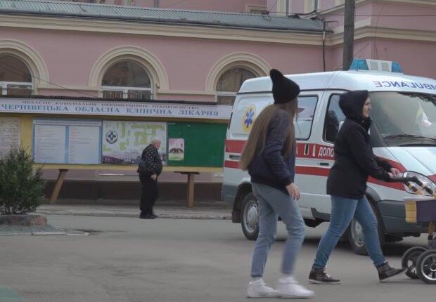 Коронавірус у Чернівцях, скріншот: YouTube