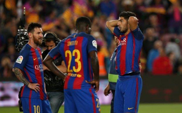 Барселона привітала Реал з чемпіонством