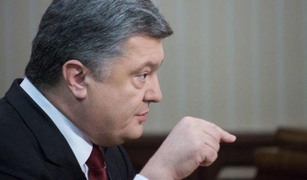 Порошенко тянет Украину в пропасть