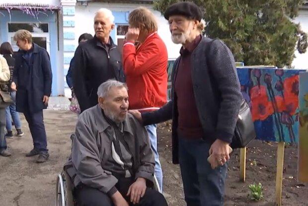 Володимир Остроухов, скрін з відео